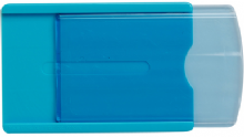 ID CARD HOLDERS WITH SLIDING RETRIEVAL
